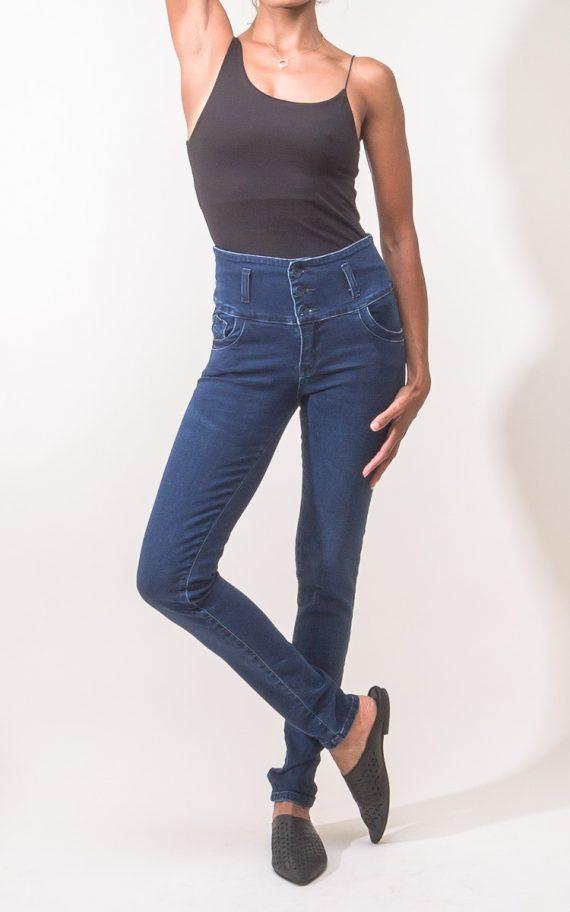 ג'ינס אושר כחול