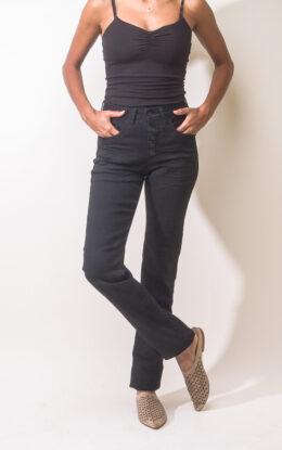 ג'ינס סקיפי שרוך שחור