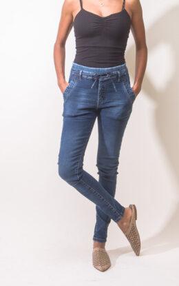 ג'ינס קנדי שרוך כחול
