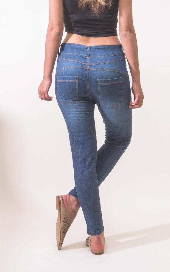 ג'ינס קלייר כחול מאחור